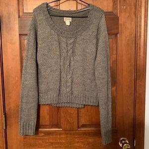 Mudd gray sweater (Junior's sizing)
